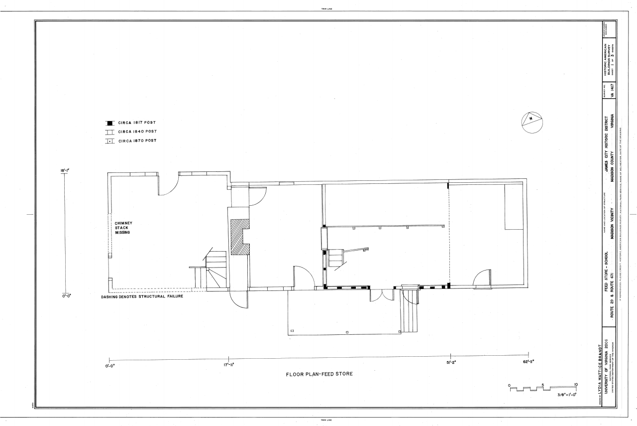 File:Floor plan of feed store - Feed Store-School, Route 29 and ...
