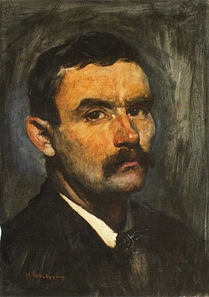 Floris Arntzenius - Self-portrait, undated, private collection