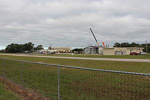 Dangriga Airport - view of the airport