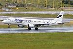 Flybe Nordic (Finnair Oneworld livery), OH-LKN, Embraer ERJ-190LR (16430520486).jpg