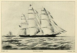Flying Cloud clipper ship