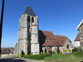 The church in Fontaine-Denis