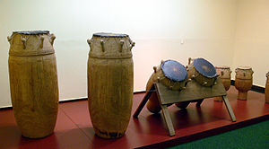 Ashanti people - Image: Fontomfrom Orchester Ethn M Berlin