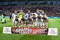 Footballteam of Chile - Spain vs. Chile, 10th September 2013.jpg