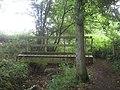 Footbridge in Point Wood (1) - geograph.org.uk - 1399481.jpg