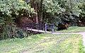 Footbridge over Coney Gut, Whiddon Valley, Barnstaple - geograph.org.uk - 1482529.jpg