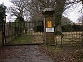 Footpath at Combe Court - geograph.org.uk - 1749134.jpg