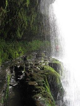 Footpath behind Sgwd yr Eira - geograph.org.uk - 1445235