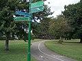 Footpaths across Cator Park, Beckenham. - geograph.org.uk - 59155.jpg