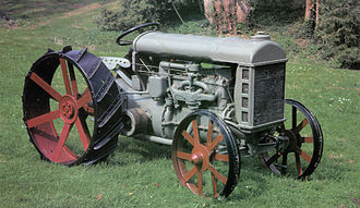 New Holland Agriculture - A Ford Tractor Model F, produced since 1917