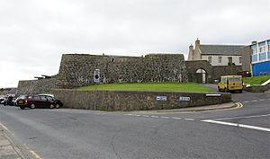 Fort Charlotte, Shetland - Fort Charlotte, Lerwick, Shetland, Scotland - from the north