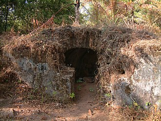 Kottapuram - Relics of the cranganore fort - explosive store room