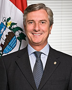 Fernando Collor de Mello - Collor's official photo as senator