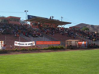 C.D. Cobresal - El Cobre Stadium during the afternoon