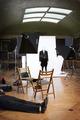 Fotografering i tavelgalleriet, bakom kulisserna - Hallwylska museet - 89377.tif