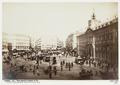 Fotografi av Madrid. Vista general de la Puerta del Sol - Hallwylska museet - 104981.tif