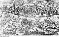 Fotothek df rp-a 0320016 Leipzig. Stadtansicht während der Belagerung 1547 mit brennender Bockmühle, aus,.jpg