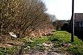 Foulridge, Lancashire, Track of former railway - geograph.org.uk - 1802564.jpg