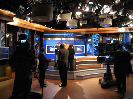 Fox News Channel's Your World studio