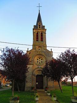 Frémery l'église Saint-Jean-Baptiste.JPG