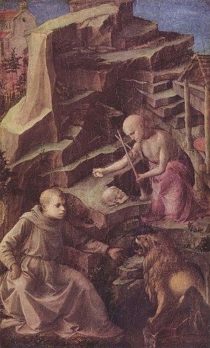 St. Jerome in Penance (Fra Lippo Lippi) - Image: Fra Filippo Lippi 006