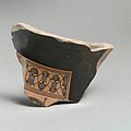 Fragment of a terracotta amphora (jar) MET DP21812.jpg