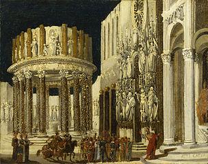 Saint Paul prêchant auprès des Athéniens