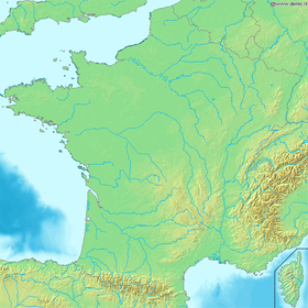 carte : Géographie de la France
