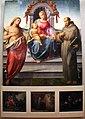 Francesco granacci, madonna tra i ss. sebastiano e francesco, 1510-20 ca., da. francesco 01 (predella di annibale gatti, 1850-60 ca.).JPG