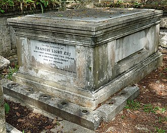 Francis Light - Tomb of Francis Light in Penang's Protestant Cemetery