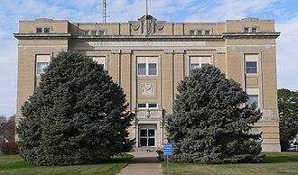 Franklin County, Nebraska - Image: Franklin County (Nebraska) Courthouse from E