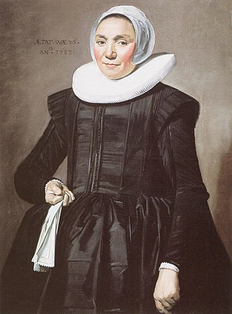 Hylck Boner - Image: Frans Hals Portrait of a woman with glove in right hand