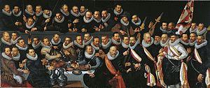 Frans Pietersz de Grebber - Schutterij, Haarlem, 1619