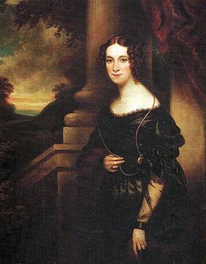 Amélie of Leuchtenberg - Portrait of Amélie of Leuchtenberg; Franz Xaver Winterhalter, 19th century.