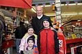Fred with little Fredheads at Ace Hardware (2149388254).jpg