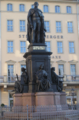 Frederick Augustus II of Saxony, statue, Dresden.png
