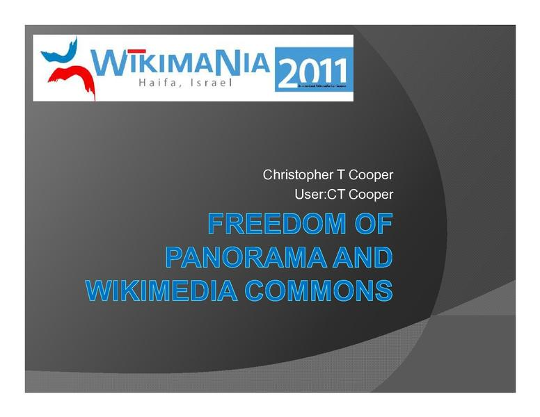 File:Freedom of panorama and Wikimedia Commons.pdf