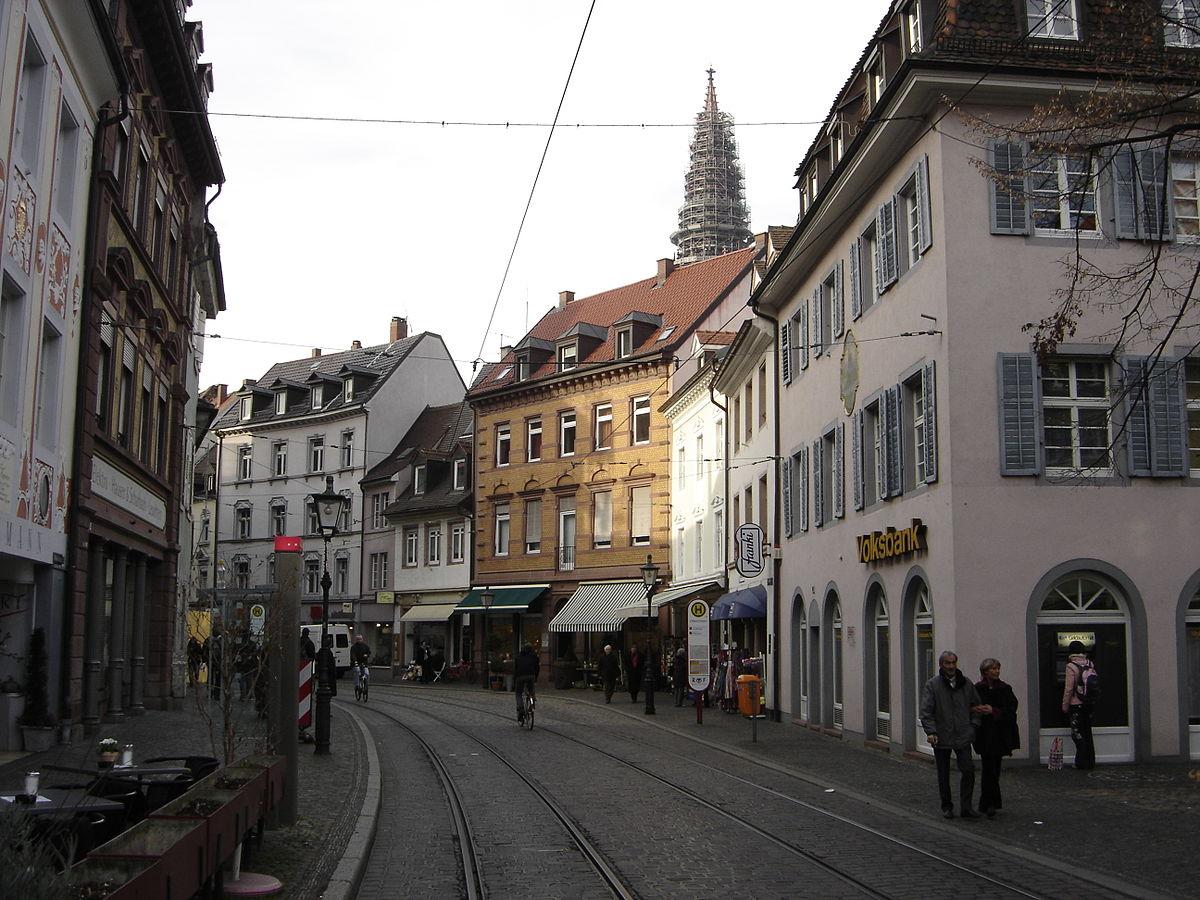 Salzstra E Freiburg Im Breisgau Wikipedia