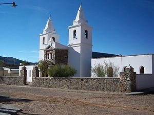 Abdón Castro Tolay - Image: Frente de Iglesia en Barrancas