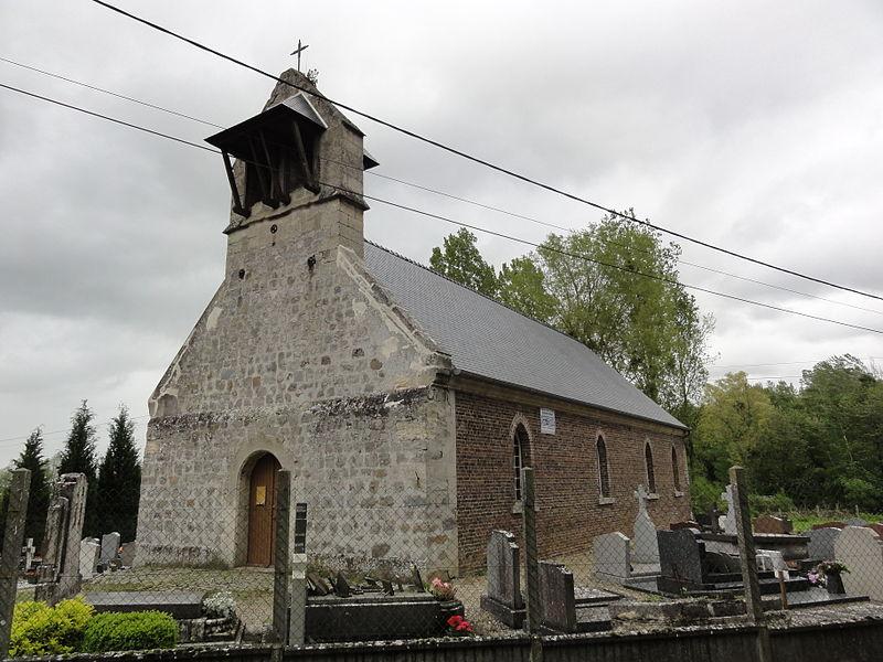 Fressancourt (Aisne) église Saint-Pierre et Saint-Paul