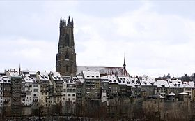 Image illustrative de l'article Cathédrale Saint-Nicolas de Fribourg