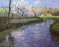Frits Thaulow A French River Landscape.jpg