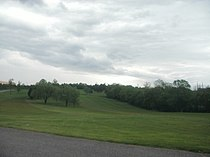 Front Royal golf course greens.JPG