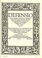 Frontispiece of Defensio contra amarulentas D. Andreae Bodenstein Carolstatini invectiones (1518).jpg