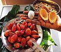 Fruits - Aframomum alboviolaceum.jpg