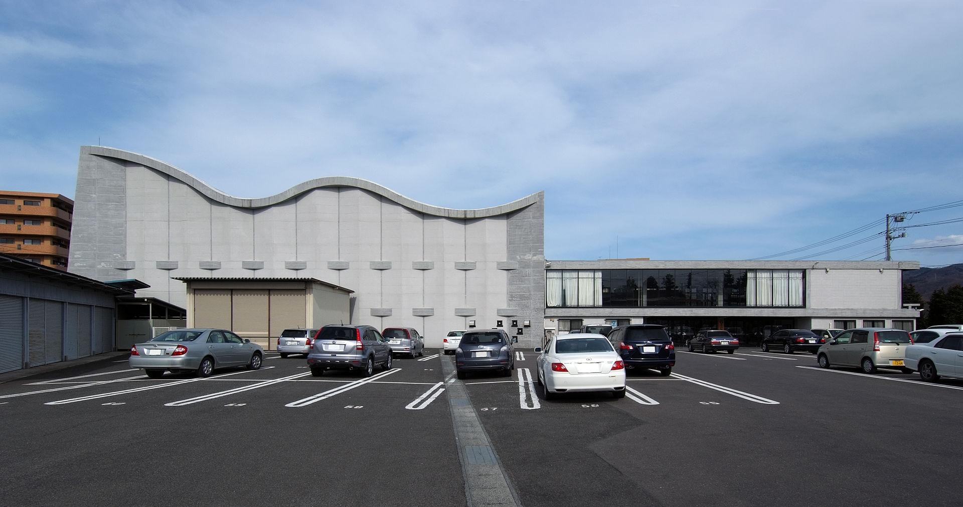 Education Center in Fukushima by Kunio Maekawa