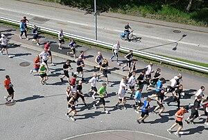 Göteborgsvarvet - Runners at the 2010 edition of the race