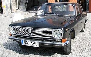 "GAZ-24 - Image: GAZ 24 ""Volga"" in Estonia"