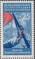 GDR-stamp 40 J. Oktoberrevolution 25 1957 Mi. 602.JPG