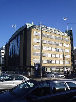 Göteborgs-Posten - GP-building